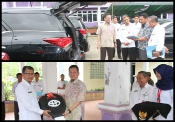 Pemkab Paser Resmi Gunakan Kendaraan Dinas Sistem Sewa, Gunakan Plat Hitam Dengan Tulisan Pemkab Paser