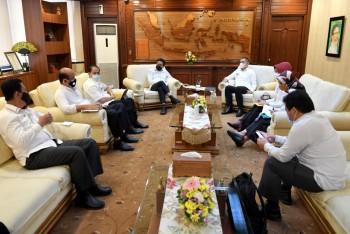 Fahmi Laporkan Pilkades dan Kondisi Desa kepada Menteri, Menteri Janji akan ke Paser