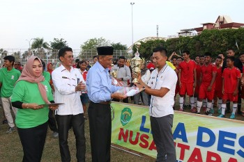 Desa Bekoso Juara LDN U-19  Kabupaten Paser