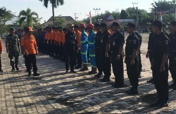 BPBD Gelar Apel Kesiapsiagaan Personil dan Peralatan Penanggulangan Bencana