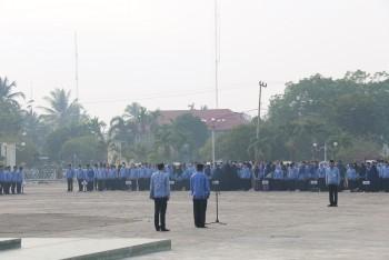 Berlakukan Absen Sidik Jari, Sekda Ingatkan ASN & PTT Berpegang Teguh Pada Komitmen