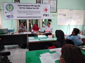 PMI Paser Gelar Pelatihan PMR Tingkat Wira