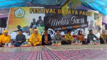 Asisten Umum Buka Festival Melas Taun Adat Budaya Paser