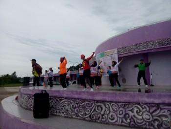 Senam Massal Maumere Jadi Semangat Hari Jadi Kabupaten