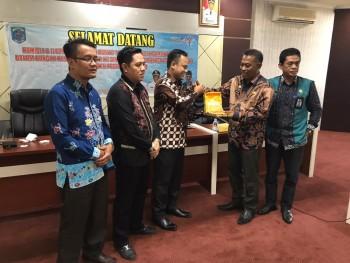 Ketua DPR Barito Timur  Studi Banding Kepariwisataan