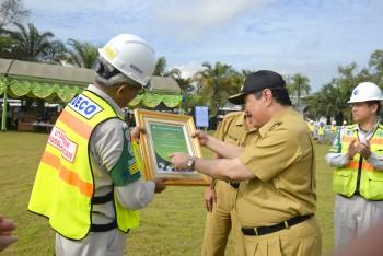 Bupati Hadiri Peringatan Hari Lingkungan Hidup Sedunia di PT. Kideco Jaya Agung