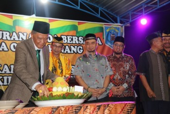 Desa Olong Pinang Gelar Doa Bersama & Tasyakuran Bersama Wabup