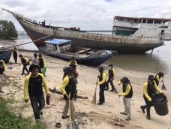 Gerakan BISA Digelar di Pantai Pasir Mayang