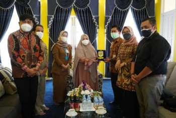 Wabup Masitah Terima Kunjungan Silaturahmi BSI & Jajaki Kerjasama