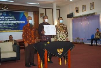 Optimalisasi  Pendapatan Daerah, Sekda Lakukan PKS dengan DJP & DJPK