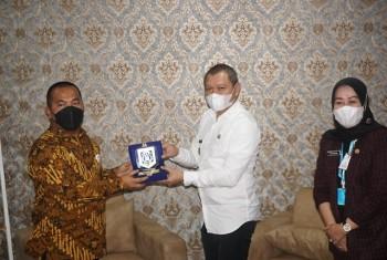 Kunjungi Kanwil V  KPPU, Bupati Fahmi Seriusi Tugas Pengawas Mendukung Pembangunan Paser