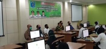 Ujian Dinas Diikuti 66 Peserta, Pegawai Tak Boleh Gaptek