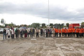 Wabup Lepas Bantuan & Tenaga Medis ke Hulu Sungai Tengah