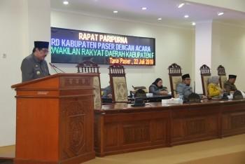 DPRD Setujui Laporan Pertanggungjawaban APBD Tahun 2018