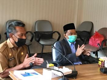 Kaharuddin Serahkan Jabatan Bupati Paser ke PLH  Katsul Wijaya