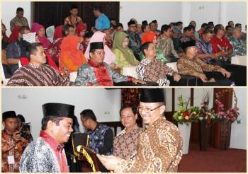 Terima Kunjungan Ketua  Pengadilan Tinggi Agama Samarinda,  Sekda  Laporkan Tingginya Kasus Perceraian