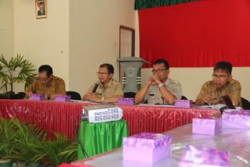 Sekda Pimpin Rapat Koordinasi Camat Se-Kabupaten Paser