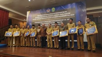6 Kali Raih WTP, Paser  Terima Penghargaan Menteri Keuangan RI
