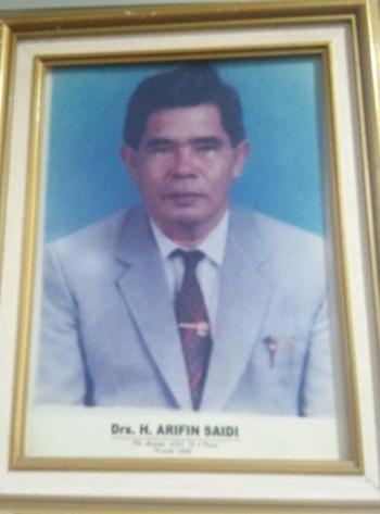 Mantan Pj Bupati Periode 1999 H Arifin Saili Tutup Usia