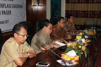 Wabup Buka Pertemuan High Level Meeting TPID