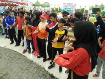 Hari Autis Sedunia, Puluhan Anak Ikuti Jalan Santai