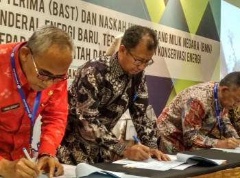 Badan Geologi Serahkan Pengelolaan Sumur Bor di Seniung Jaya