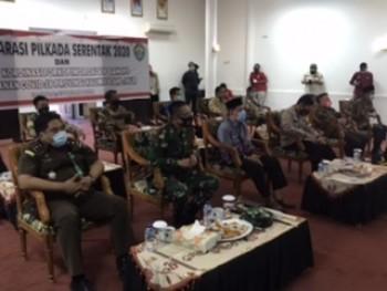 Gubernur Ingatkan Pelaksana & Peserta Pilkada Harus Patuhi Prokes