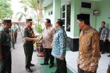 Bupati Terima Kunjungan Pangdam VI Mulawarman