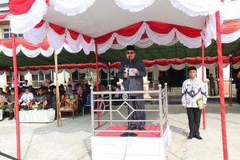 Bupati Pimpin Peringatan HUT ke-74 PGRI & Hari Guru Nasional