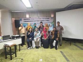 DPPKBP3A Kabupaten Paser  Gelar Bimbingan Teknis Pelatihan  Penyusunan Penganggaran Responsif Gender (PPRG)