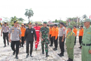 Pemkab, TNI & Polisi Siaga Karhutla