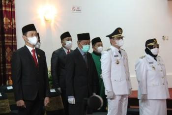 Lantik Bupati Paser &  5 Kepala Daerah, Isran   Ingatkan Bupati dan Walikota Bukan Bawahan  Gubernur