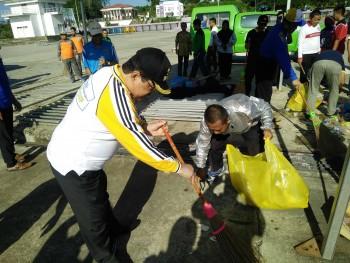 Dukung  Tiga Bulan Bersih Sampah