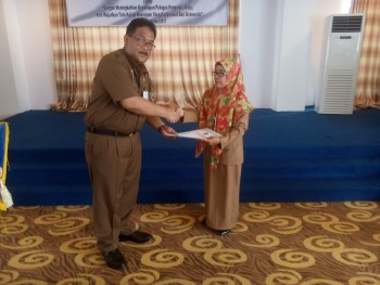 Arief Rahman Buka Diklat Arsip