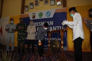 Gubernur & Wabup Resmikan Samsat Paten Batu Engau