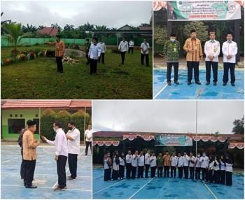 Kanwil Kunjungi Pembangunan RKB Bantuan SBSN di MTs Negeri 4 Paser