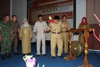 Wabup Buka Musrenbang RKPD 2019