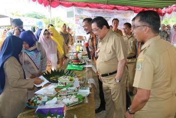 Pasar Rakyat Laris Manis, Bupati Apresiasi Penyelenggara HUT Korpri