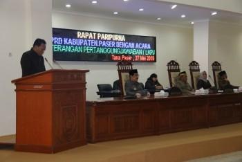 Tanggapi LKPj, DPRD Puji Pembangunan Perkantoran
