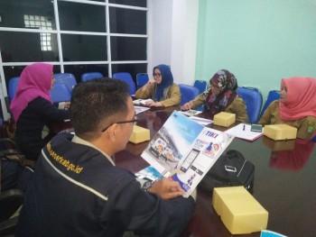 Aparatur Humas Paser Kunjungi Humas Pemkot Tangerang