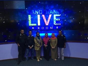 Humas Kunjungi Ruang Tangerang LIVE Room Laksa