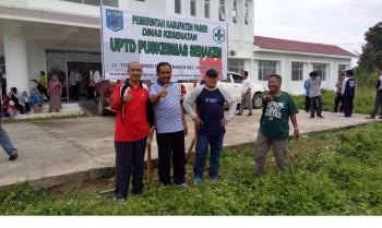 Senin Puskesmas Senaken Mulai Layani Masyarakat 6 Desa