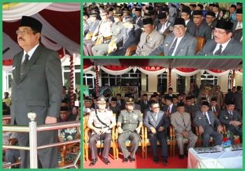 Upacara Hari Jadi Berlangsung Khidmat , Dihadiri Walikota Balikpapan dan Ketua DPRD Tabalong