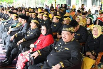 Upacara Hari Jadi ke-59 di Pimpin Bupati & Dihadiri Pejabat Seprov Kaltim, Bupati PPU dan Bupati Tabalog