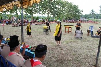 Musik Tradisional Kultur SMPN 5 Unjuk Kebolehan