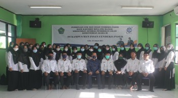 Pembinaan Kasubdit Bina GTK MA/MAK Di MAN IC Paser