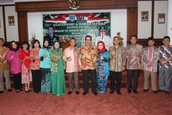 Bupati Terima Danrem Brigjen TNI Makmur Umar