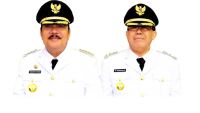 Bupati Paser dan Wakil Bupati Paser