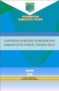 Laporan Kinerja Instansi Pemerintah (LKjIP) Kabupaten Paser Tahun 2017