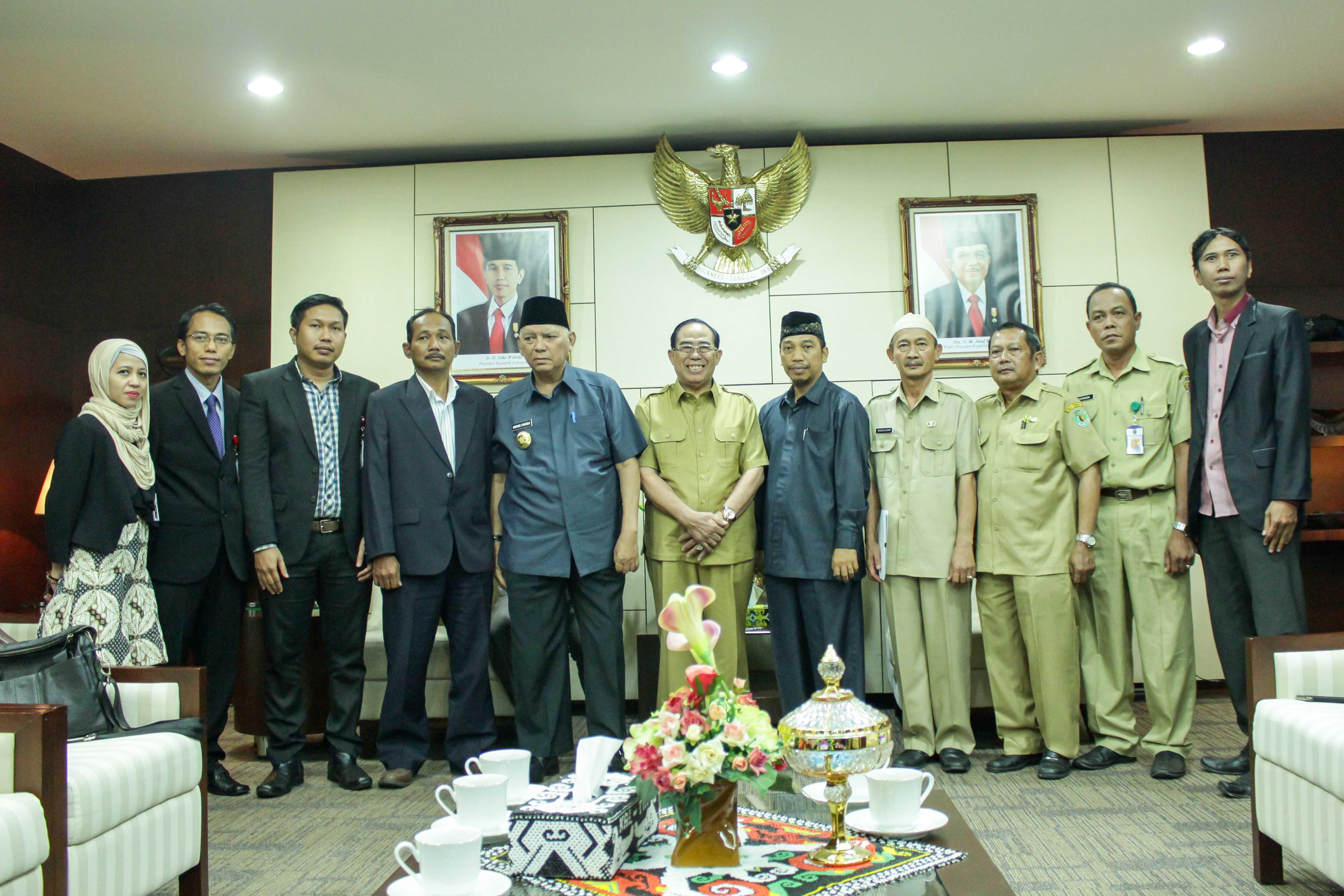Wakil Bupati Paser Menghadiri Acara Penyerahan Izin Prinsip Penyiaran RPK Kabupaten Paser